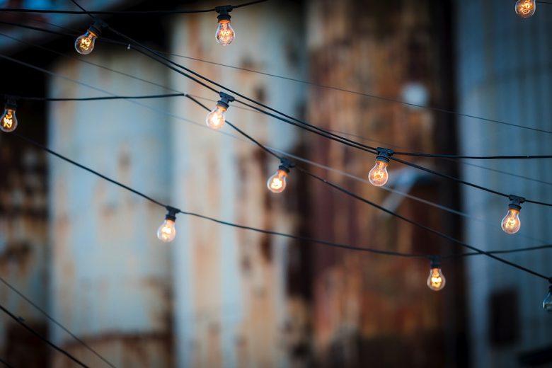 idee luci giardino